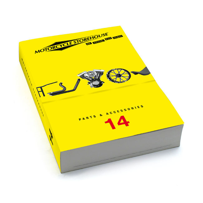 Motorcycle Storehouse Catalog Vol 14 - Harley Davidson Parts and Accessories