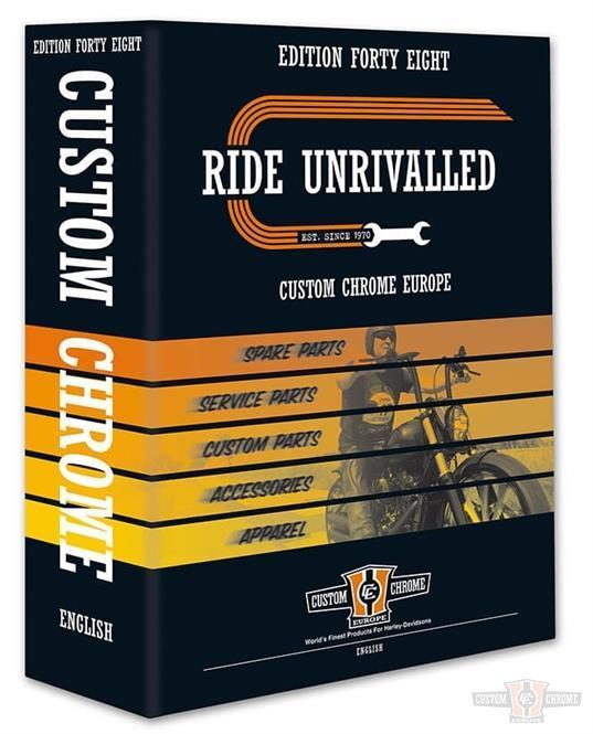 Custom Chrome Catalog 2019 / English Harley Davidson Parts and Accessories