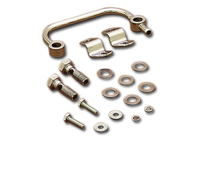 Air Cleaner Breather Manifold Kit, Fits: XL 91-16