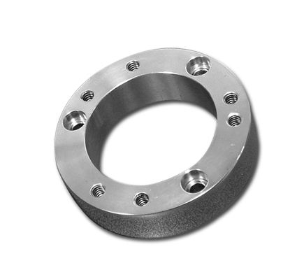 Multi-Plate Spacer for  Air Cleaners, 20 mm, smooth, chrome