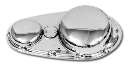 Paughco Steel 'Tin Style' Outer Primary Covers, Chrome stock outer XLCH