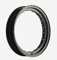 "16"" Drop Center Rim, Black 40-hole rim (repl. OEM 43007-40A)"