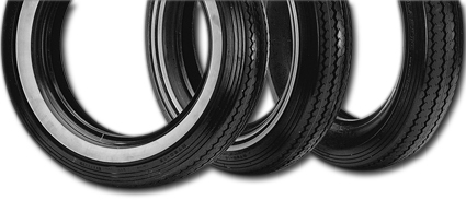 "Shinko E-240 - H.D.S. ""Classic"" Tire double whitewall"