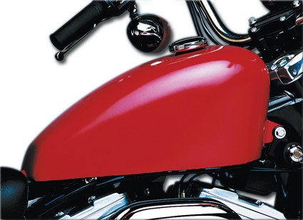 Rubber Mounted 'King' Tanks for  Sportster Models from 82-94