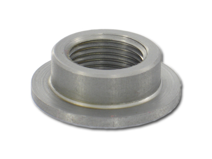 "Weld-In Petcock Bungs by Pingel, 3/8"" NPT steel weld-in bung"