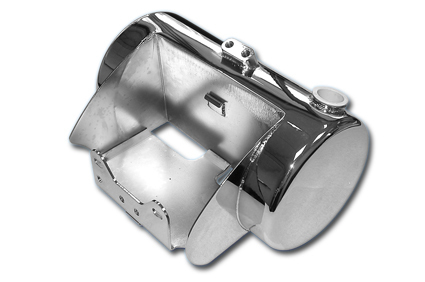 Custom Oil Tanks for Twin Cam 88  Softail Models, round