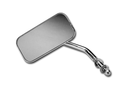 Rectangular Mirror, Chrome, Harley, Chopper
