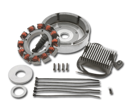 OEM 32 Amp Alternator Kit, Original Equipment parts, Harley