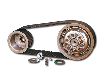 "BDL 3"" Belt Drive Kits m. Kupplung Big Twins m. Kicker, Panhead + Shovel 55-84"