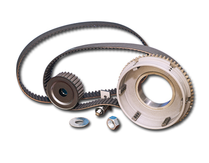 BDL 11mm Belt Drive Kits für Big Twin 4-Gang, Kickstarter 36-54, Harley