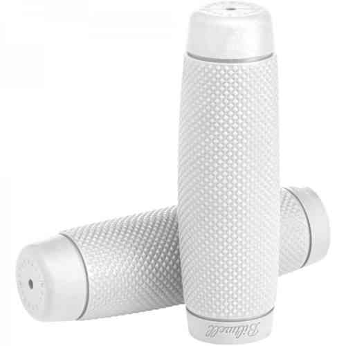 "Biltwell Recoil Grips, white 7/8"", Chopper"