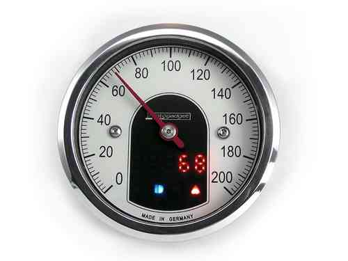 Motogadget Motoscope Tiny Speedo polished