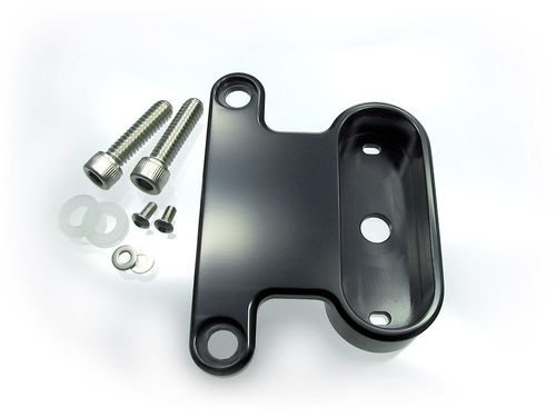 Motogadget HD XL Rockerbox Bracket - Black anodized