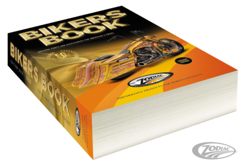THE 50TH ANNIVERSARY ZODIAC BIKERS BOOK Harley Davidson Parts and Accessories