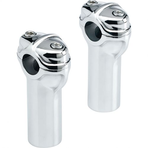 Biltwell Gordo Risers Chrome - 4""