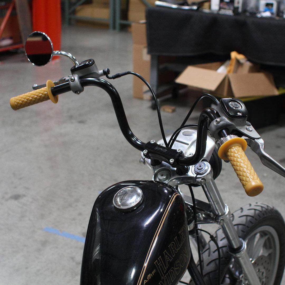 Biltwell Thruster Griffe Natur Fur 1 Lenker Harley Davidson Mve Cycles Com