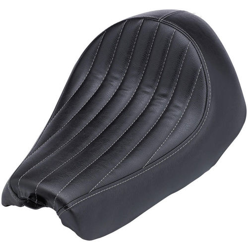 Biltwell Champion Seat - Black Vertical Tuck n' Roll