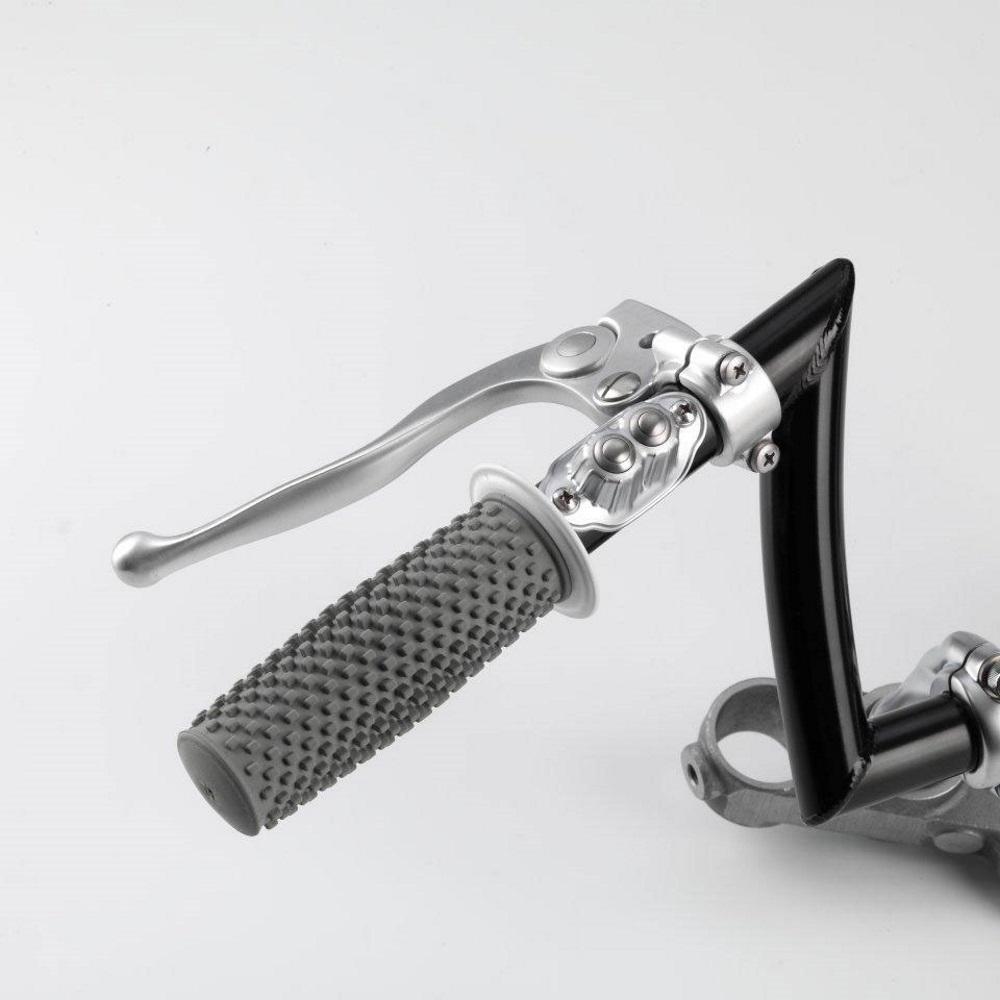 """Chopper verchromt Kustom Tech Deluxe Taster für 1/"""" Lenker Harley"""