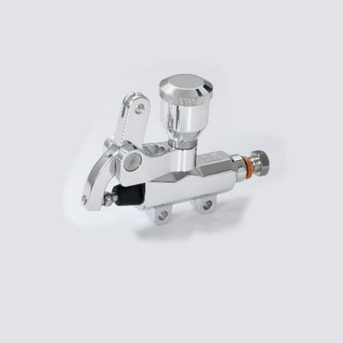 Kustom Tech Wire Operated Master Cylinder, with reservoir, polished, 14mm