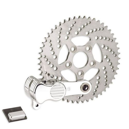 Kustom Tech Sprocket Brake and Caliper Kit - Polish