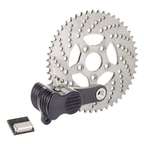 Kustom Tech Sprocket Brake and Caliper Kit - Black
