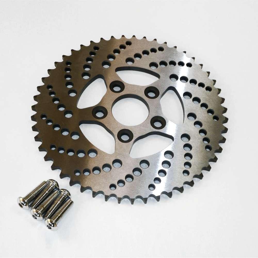 Kustom Tech Ritzel mit 51 Zähnen, Ersatzritzel, Stahl, Bremse ...