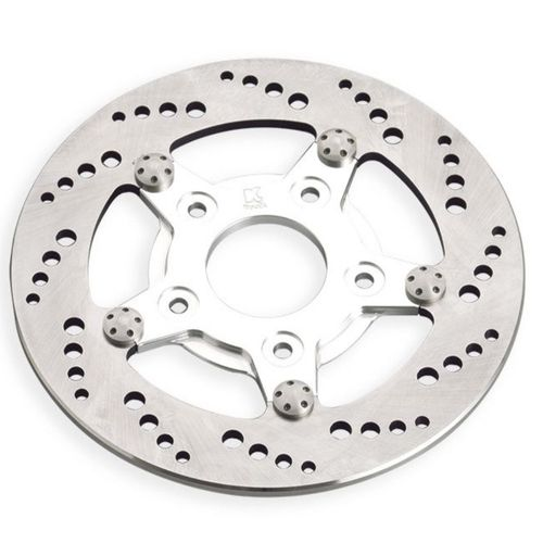 "Kustom Tech 8,5"" Drilled Style Rotor, Front, Left"