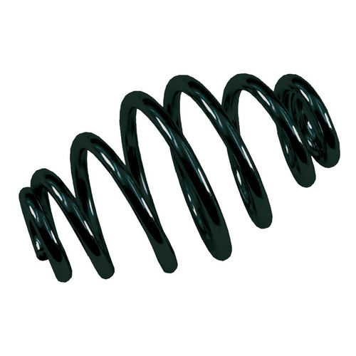 "Tapered Solo Seat Spring, 4"" long, Black"