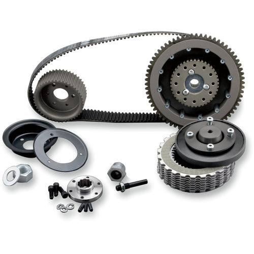 BDL 8 mm 'Bolt-In' Belt Drive Kit, fits 4-speed Shovelhead models with chain rear drive from 70-E84